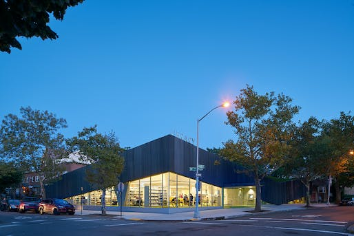 Oct 21: Kew Gardens Hills Library, Architect: WORKac, Image courtesy of Bruce Damonte.