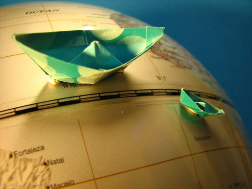 What is architecture without travel and international labor? Image: fdecomite via Flickr