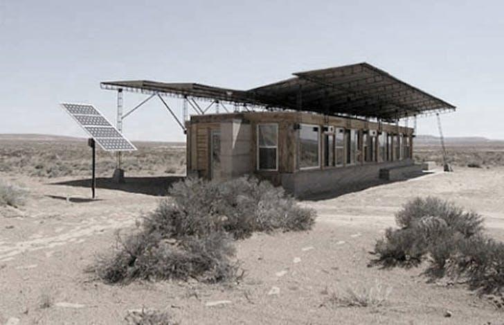 Rosie Joe House, Navajo Nation, Utah, 2004. Image courtesy of Dialectic.