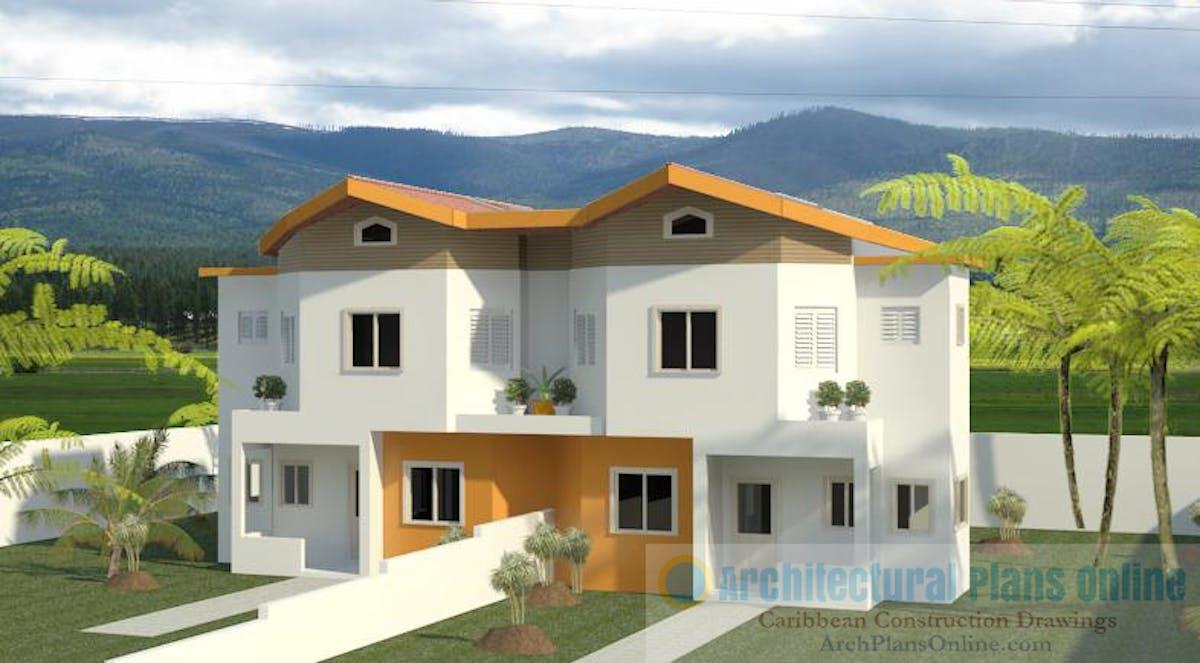 Caribbean Home Design Hd018 Damar Hutchinson Archinect