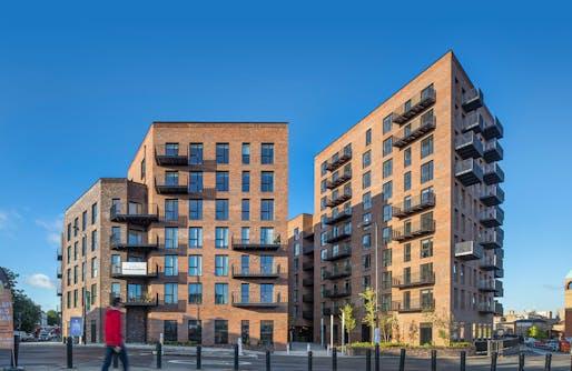 Dalston Lane by Waugh Thistleton Architects. Photo Credit: Daniel Shearing.