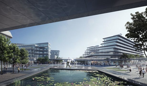 Huasha Plaza, Xuzhou, China, by Aedas