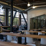 Interior of Pinterest's new San Francisco office by First Office, via Gigaom.