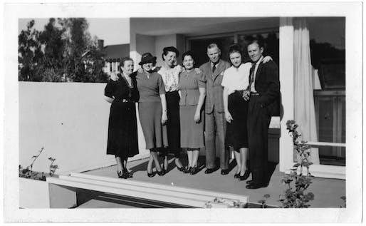 The Bubeshko family. Photo courtesy Luby Bubeshko – Original Clients: far left – Anastasia Bubeshko; second from right: Luby Bubeshko.