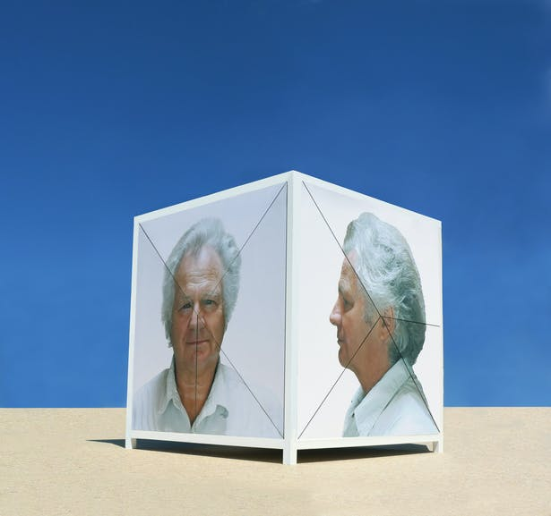 Self Portrayal Pavilion, closed position.