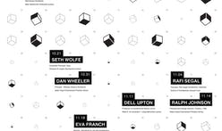 Get Lectured: UIUC School of Architecture Fall '13