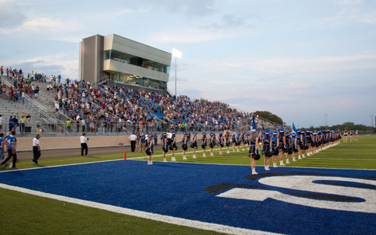 Weatherford Football Stadium Ryan Squyres Archinect