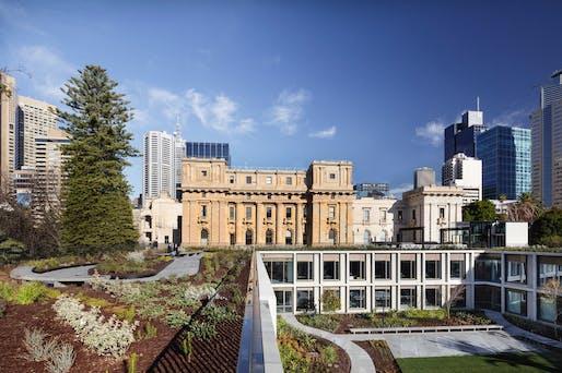 Parliament of Victoria Members' Annexe by Peter Elliott Architecture + Urban Design   Victoria. Photo: John Gollings.