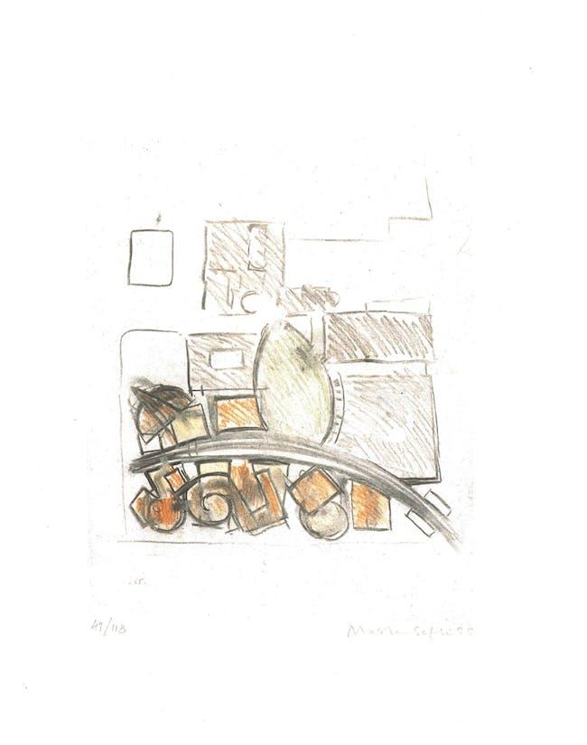 Moshe Safdie, New Wing Expansion Peabody-Essex Museum, Print Ed. 47/118, 16 x 20