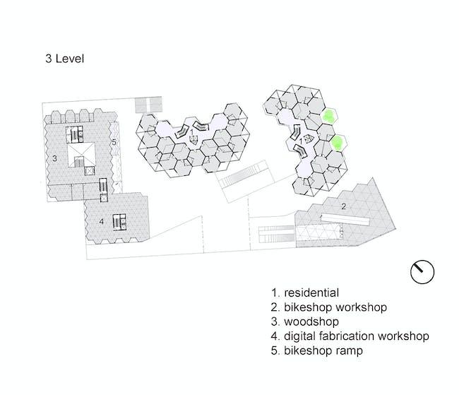 Level 3 plan. Image courtesy of Workshop XZ.
