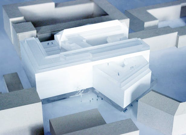 model © HOLODECK architects