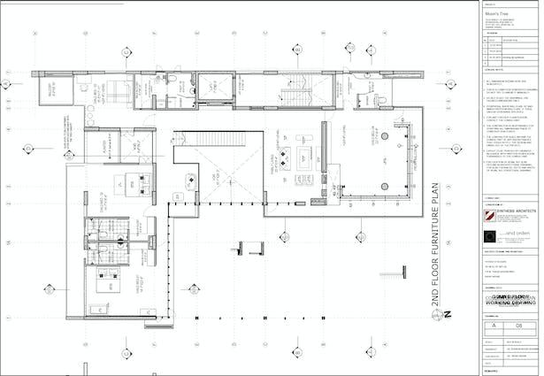 Plan 2nd floor