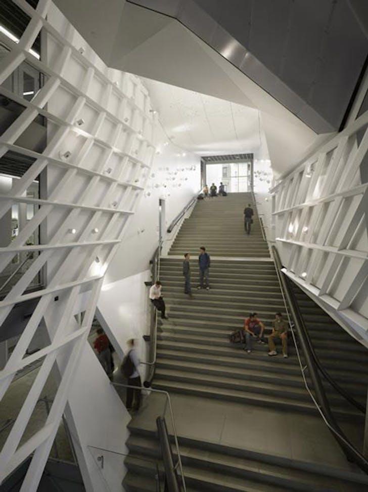 Morphosis: 41 Cooper Square, main stair