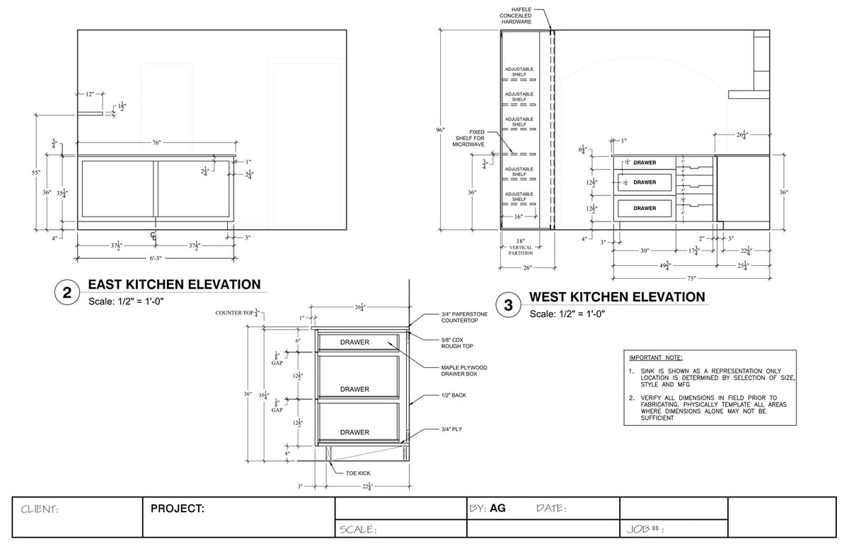 how to read architectural drawings pdf