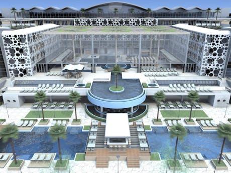"""...• Preliminary design of the Health Tourism Center 'MEDSPA-CENTER"""" -Ulcinj"""