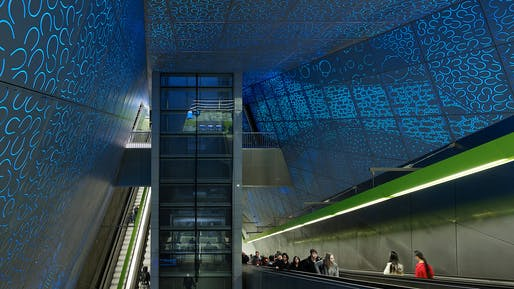 Sound Transit University of Washington Station by LMN Architects © Kevin Scott
