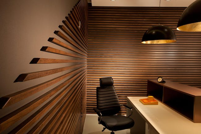 Miami Modern Scandinavian Medical Office by DKOR Interiors.