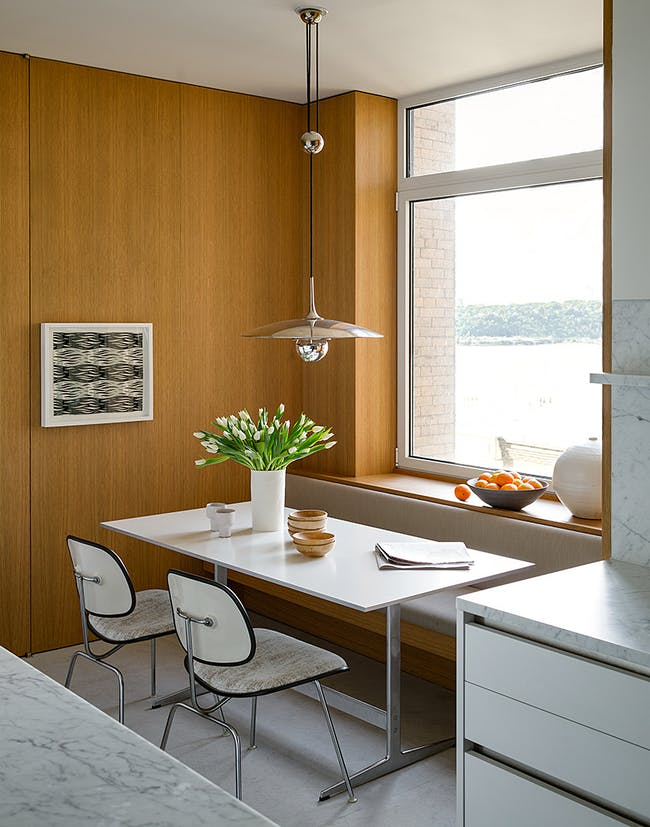 Upper West Side Apartment in New York, NY by carmen lenzi architect; Photo: Trevor Tondro