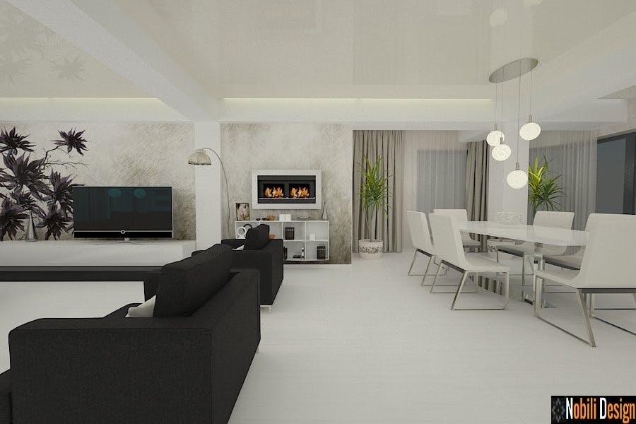 Design interior case moderne amenajari interioare vile - Design case moderne ...