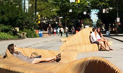 """Have a seat at the """"Urban Reef"""" installation in downtown Vancouver, Canada"""