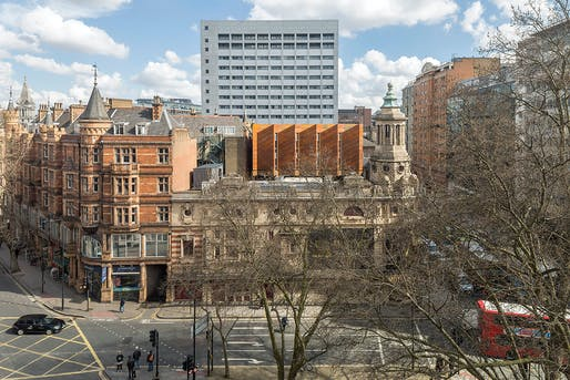 Shaftesbury Theatre by Bennetts Associates. Photo: Peter Cook.