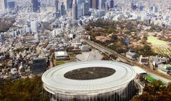 Tokyo Olympic Stadium Entry by MenoMenoPiu Architects & FHF Architectes