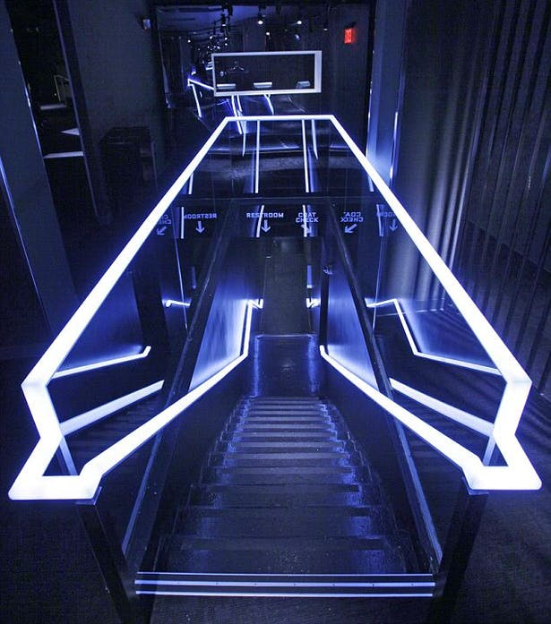 Stairway (club to the bathroom)