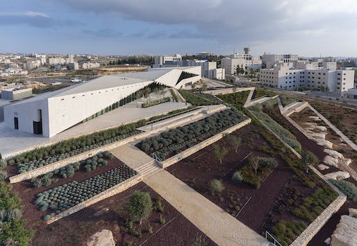 Culture - Completed Buildings Winner: Heneghan Peng Architects, The Palestinian Museum, Birzeit, Palestine.
