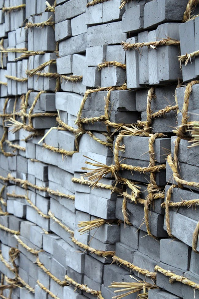 The grey brick of the hutongs via Alexander Morley