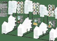 Liveable Butterfly Farm.Shop houses rare lanes