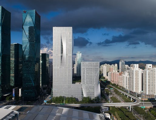 Best Tall Building 200–299 Meters Category Winner: Shenzhen Energy Headquarters, Shenzhen. Photo: Chao Zhang.