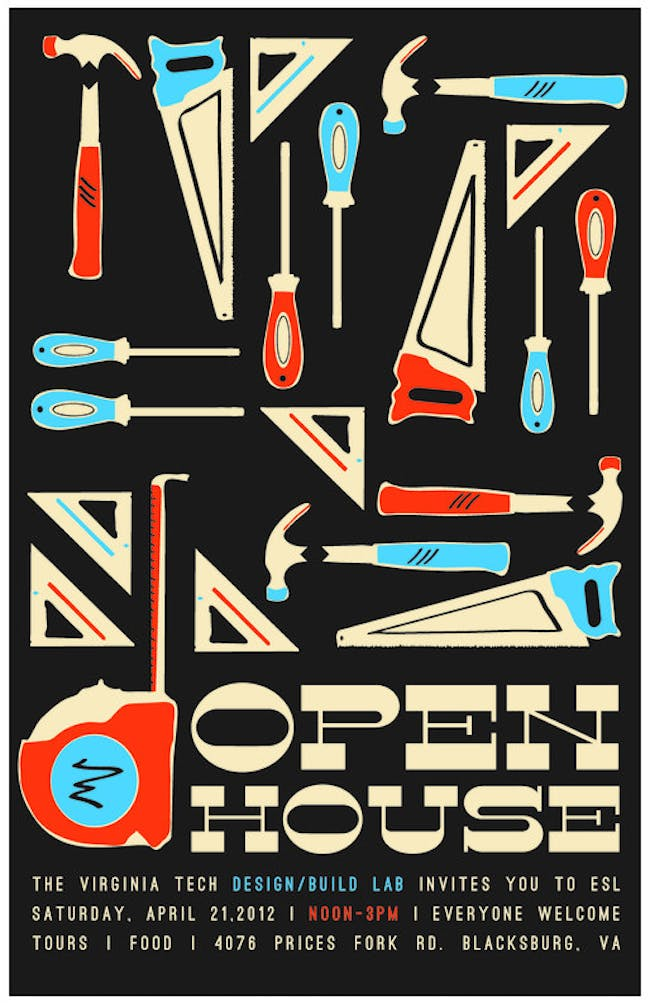 Open House at Virginia Tech's Environmental Systems Laboratory on April 21 noon to 3pm