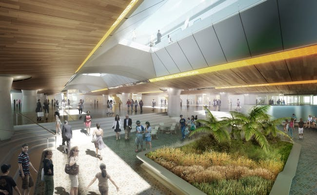 Los Angeles Union Station Master Plan (with Grimshaw Architects). Rendering © Grimshaw