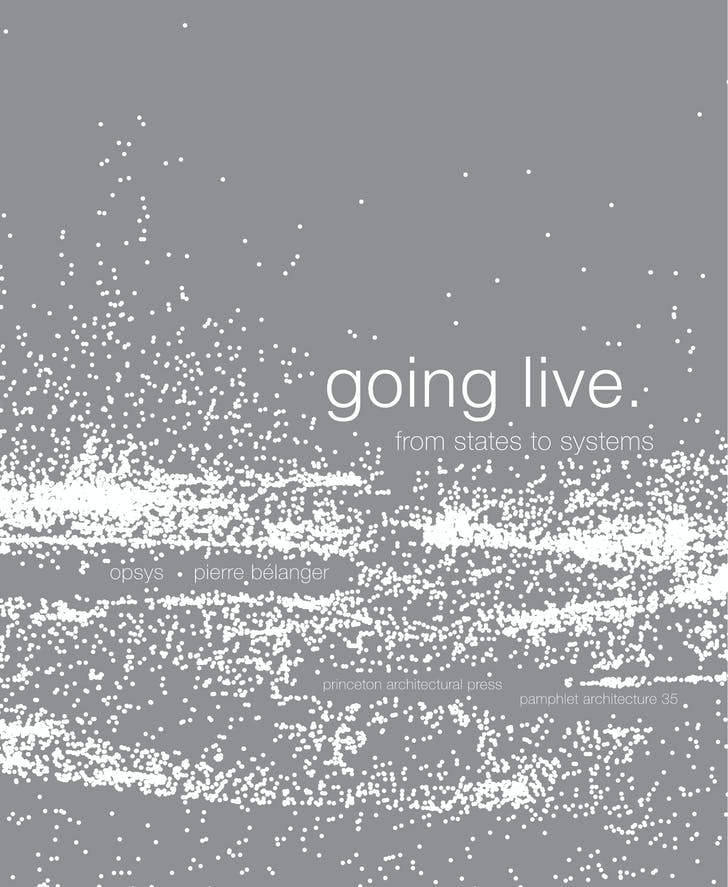 The cover of 'Pamphlet 35: Going Live: From States to Systems'