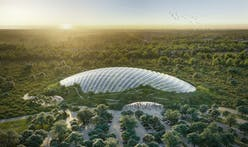 World's largest single-domed tropical greenhouse, designed by Coldefy & Associates, coming soon to Northern France