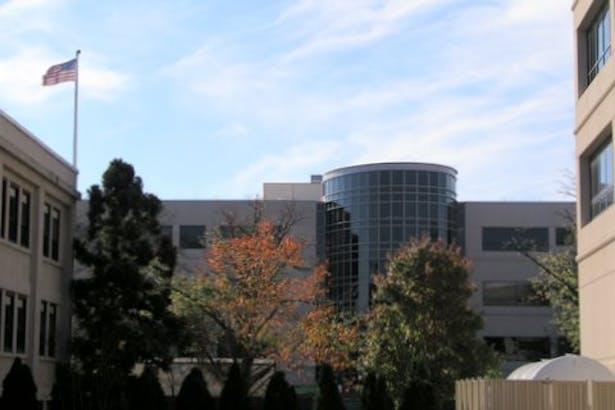 Building Facade from Campus