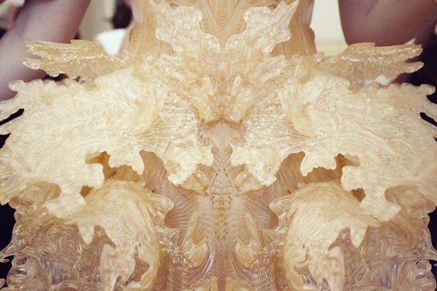 HYBRID HOLSIM DRESS Photograph - ©Sophie van der Perre