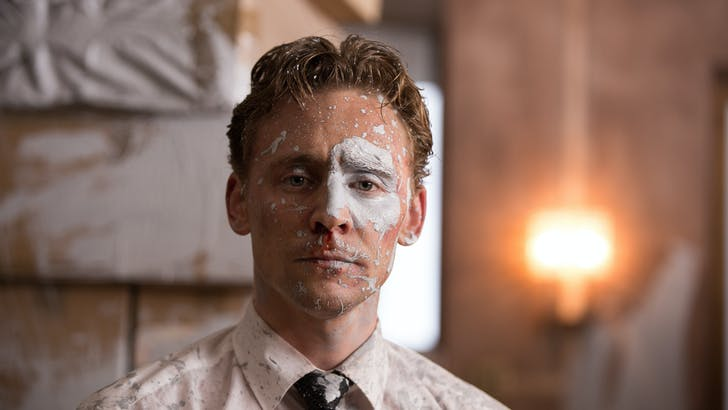 Tom Hiddleston as Laing. Photo courtesy of Magnolia Pictures.