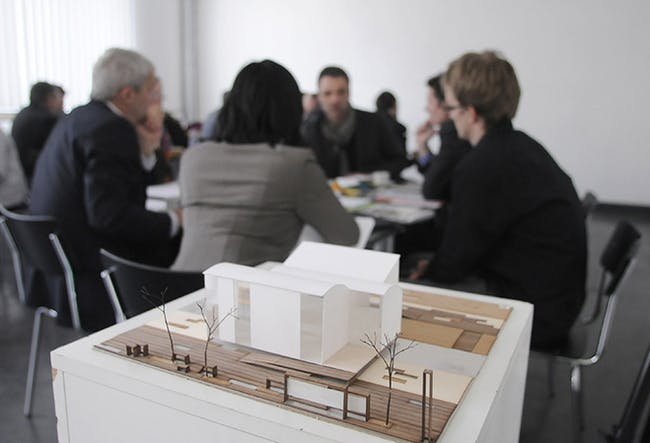 Over 200 students from Brown University, RISD, and the University of Applied Sciences in Erfurt, Germany will design TECHSTYLE HAUS for the Solar Decathlon Europe 2014 competition.