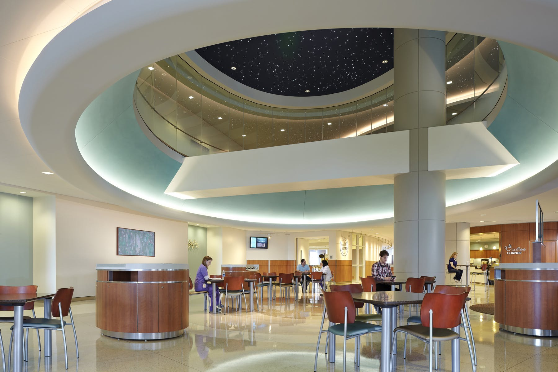 Hospital Corridor Lighting Design: Texas Children's Hospital Pavilion For Women