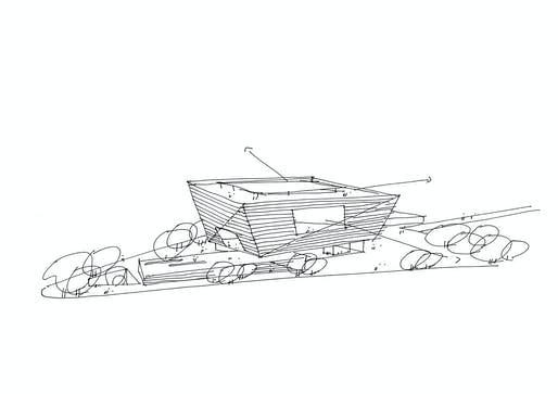 Sketch. Image: Schmidt Hammer Lassen Architects.