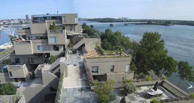 Habitat 67 via WikiMedia Commons
