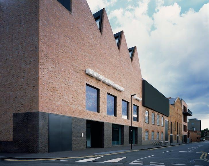 Newport Street Gallery by Caruso St John. Photo: Helen Binet