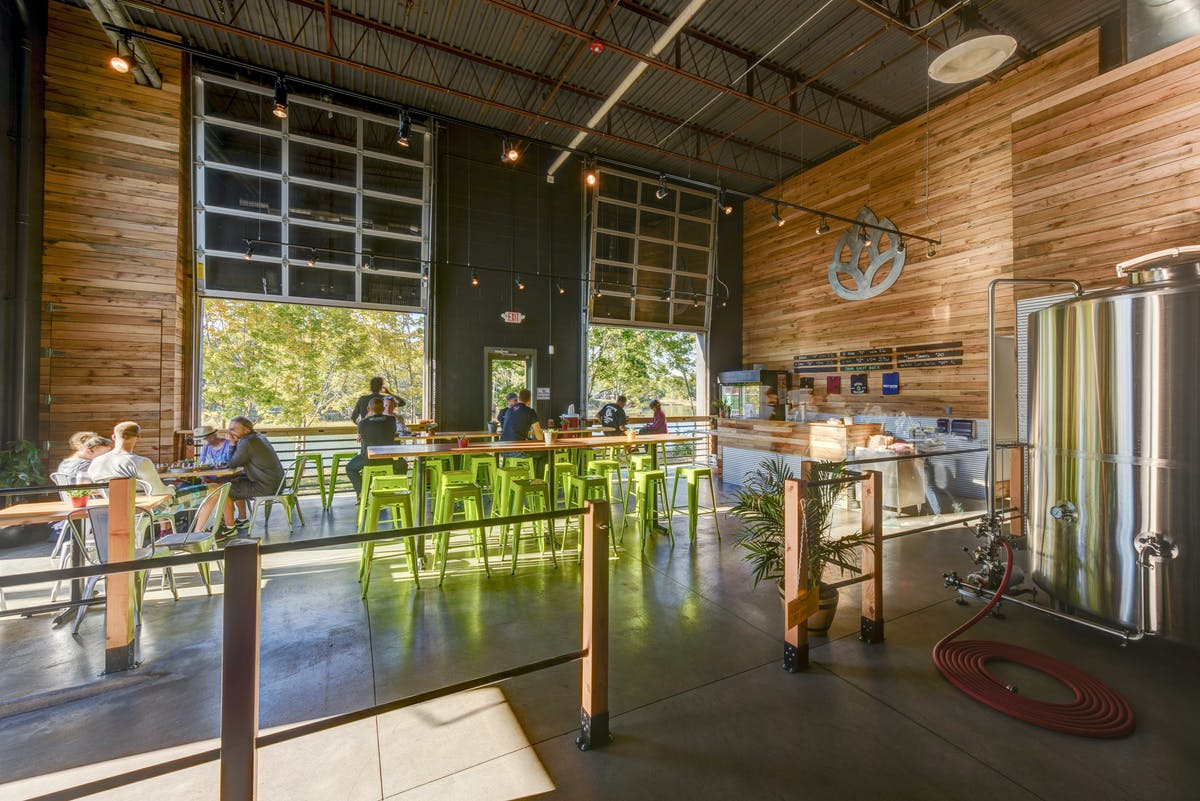 Great Rhythm Brewing Company Winter Holben Architecture Design