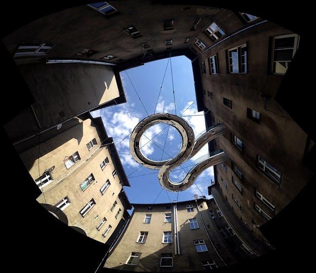 'Walk-On' balcony by Zalewski Architecture Group. Image courtesy of Zalewski Architecture Group.