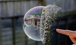 It's official, the Hirshhorn Museum has burst the bubble
