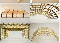 photography, construction models - wood and cardboard
