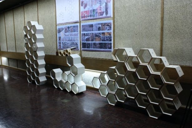 Hexy Wall : Furniture Project