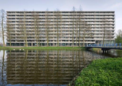 DeFlatKleiburg in Amsterdam by NL Architects and XVW architectuur. Photo © Marcel van der Burg.