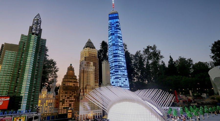 Tallest Lego model in the U.S. unveiled: One World Trade Center in ...